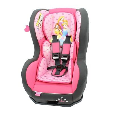Disney Cosmo SP Luxe Baby Child Reclining Car Seat Princess Pink 0 - 4 Years