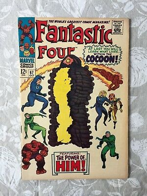 Marvel Comics Fantastic Four # 67 1967 VF-
