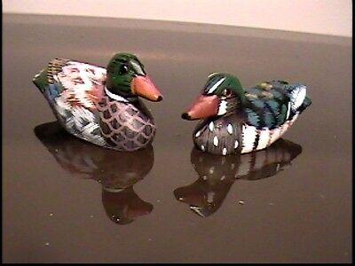 - Third pair of small ducks (model 571-3), handmade in early 90's