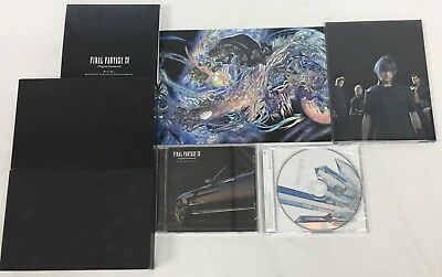 Final Fantasy XV 15 Limited Edition Soundtrack New Sealed Blu-Ray Music CD's