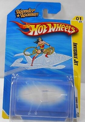 2010 Hot Wheels 1:64 Sdcc Comic Con *invisible Jet* Wonder Woman Very Rare