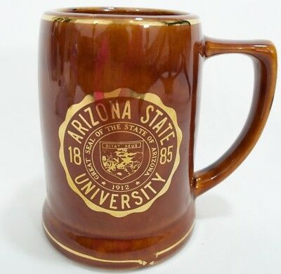 Vintage Arizona State University Beer Coffee Mug Stein