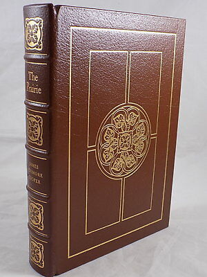 THE EASTON PRESS THE PRAIRIE by James Fenimore Cooper Leather Bound Like New!