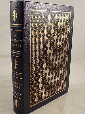 THE EASTON PRESS AN AMERICAN TRAGEDY by Theodore Dreiser Leather Bound Like New!