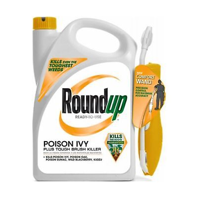 Roundup 5203980 Poison Ivy Plus Tough Brush Killer Ready-to-Use Comfort Wand ...