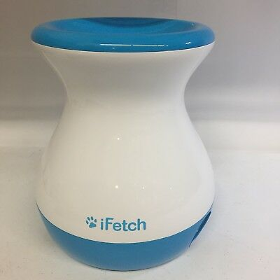 iFetch Frenzy Mini Dog Toy Ball Fetching Game Gravity Thrower Exercise Used Good
