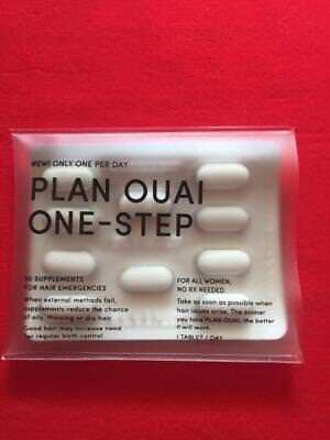 OUAI Hair Supplement for Thinning Hair - 10 Pills for 10 Day Supply - FREE SHIP!