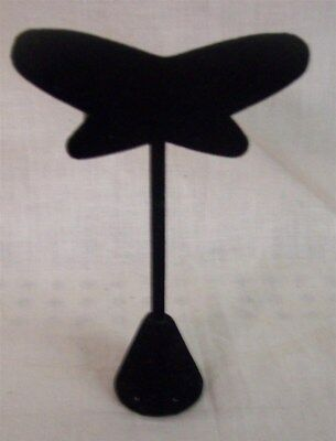 Jewelry Display Fixtures 12 NEW BUTTERFLY SHAPED EARRING DISPLAY STANDS 4.75""