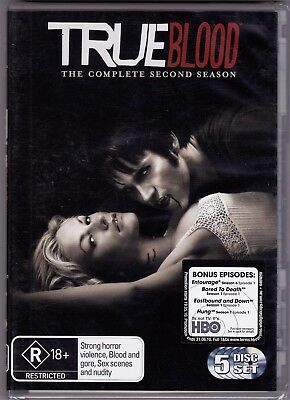 True Blood - The Complete Second Season - DVD (Brand New Sealed) Region 4