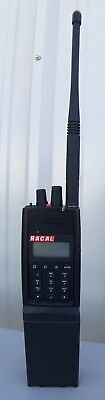 THALES 25 RACAL Handheld Portable Radio w/Antenna and Battery Pack PRC6894