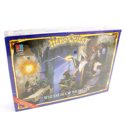 HeroQuest Wizards of Morcar Boxed - BNIB FACTORY SEALED Hero Quest [ENG, 1992]