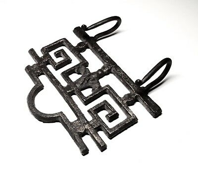 Cast Iron Towel Coat Hooks Hat Hook Key Rack
