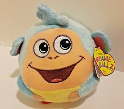 TY BOOTS the MONKEY BEANIE BALLZ (DORA the EXPLORER) - MINT TAGS 5 in.