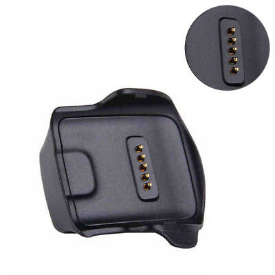 ABS Portable Dock Black For Samsung Galaxy Gear Fit R350 Watch Charger Cradle