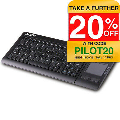Laser Wireless/Bluetooth Touchpad Keyboard f/ Windows */Mac/Tablet/Smartphones