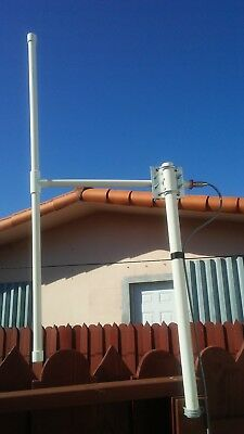 Double Bazooka Antenna For The 2 Meter Band