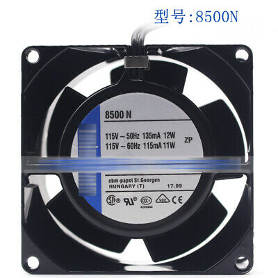 for Ebmpapst 8500N 115V 12/11W 80*80*38MM PAPST Cooling Fan