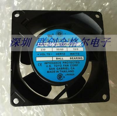 for 1pc TOYO USTF80382303W Cooling fan 230V 10/8W 80*80*38MM