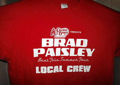 BRAD PAISLEY BEAT THIS SUMMER Local Crew Shirt * Great  Gift