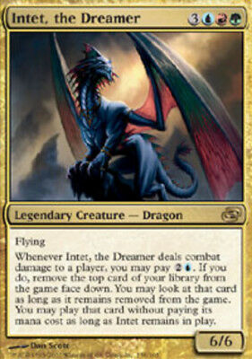 MTG-1x-Moderate Play, English-Intet, the Dreamer-Planar Chaos