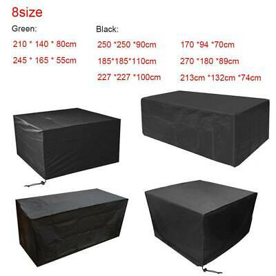 Waterproof Garden Patio Furniture Cover Cover for Rattan Table Cube Seat Outdoor