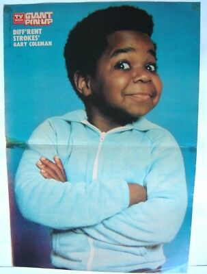 Gary Coleman Tv Week Poster Diff'rent Strokes - Arnold Pin Up