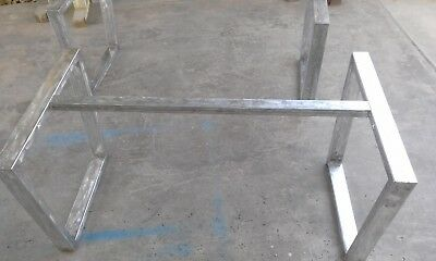Table base leg stand foot with top base tavolo base in metallo x scrivania