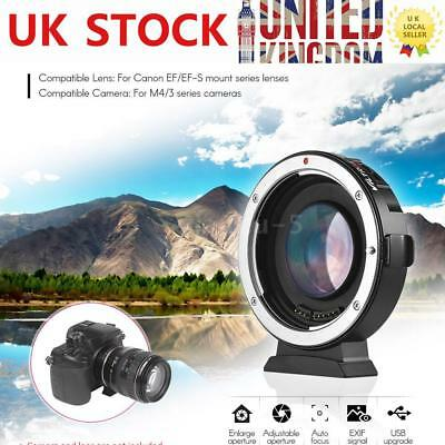 Viltrox EF-M2 Auto Focus Ring Adapter 0.71X for Canon EOS Lens Mount to MTF M43