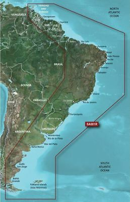 Garmin BlueChart G2 HD Vision-VSA001R - South America East Coast-microSD/SD