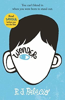Wonder by R J Palacio New Paperback Book