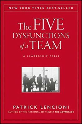 The Five Dysfunctions of a Team: A Lea by Patrick M. Lencioni New Hardcover Book