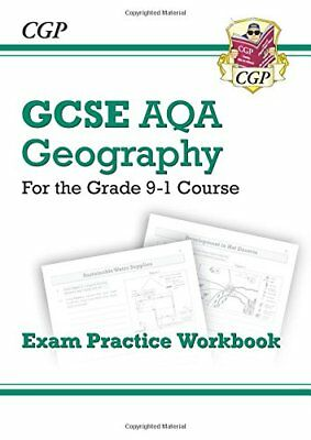 New Grade 9-1 GCSE Geography AQA Exam Practice Workboo by CGP New Paperback Book