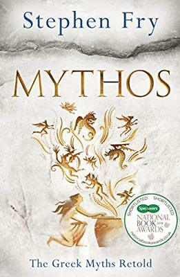 Mythos: The Greek Myths Retold by Stephen Fry New Hardcover Book