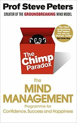 The Chimp Paradox: The Mind Management P by Prof Steve Peters New Paperback Book