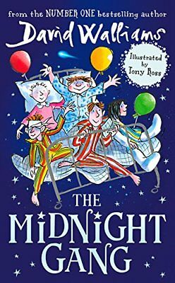 The Midnight Gang by David Walliams New Paperback Book