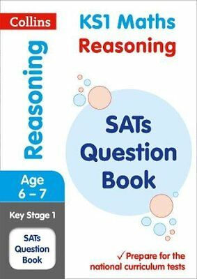 KS1 Maths - Arithmetic SATs Question Book: 201 by Collins KS1 New Paperback Book