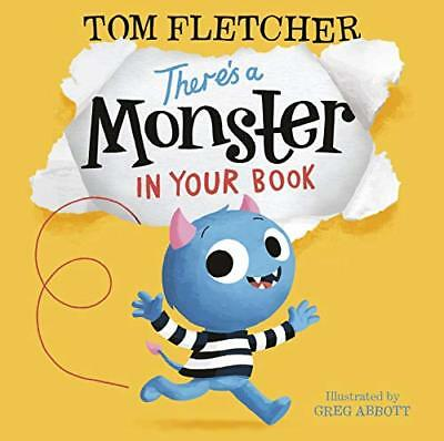 There's a Monster in Your Book by Tom Fletcher New Paperback Book