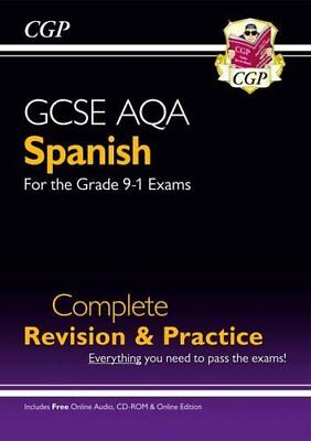New GCSE Spanish AQA Complete Revision & Practice (wit by CGP New Paperback Book