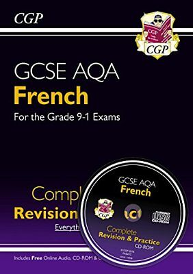 New GCSE French AQA Complete Revision & Practice (with by CGP New Paperback Book