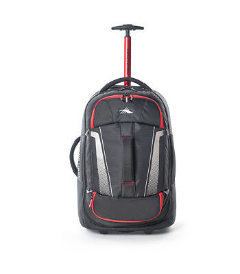 High Sierra - Composite V3 56cm  Wheeled Duffle With Backpack Straps - Black