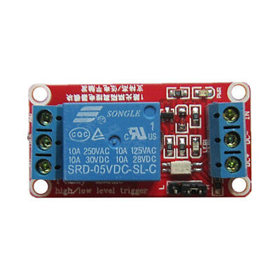 5V 12V 1 Channel Relay Module Board With Isolation High Low Level Trigger
