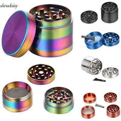 New Alloy 4 Layers Hand Muller Herb Spice Smoke Tobacco Grinder Crusher S5DY 01