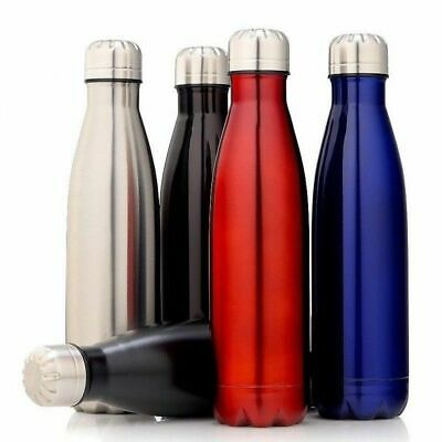 New Fluid 350-1000ml Water Vacuum Thermo Bottle/Stainless Steel/Cold/Hot/Drink
