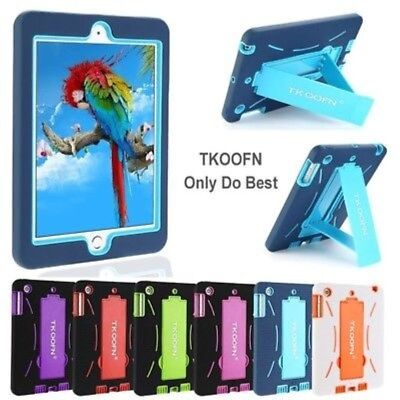 KIDS SHOCK PROOF CASE HEAVY DUTY COVER FOR APPLE iPad 2/3/4 Air 1/2 Mini 2/3 LOT