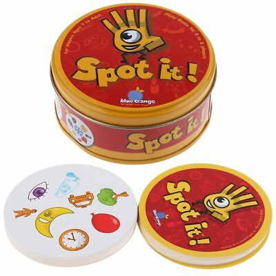Spot It Find It Board Card Game For Children Family Gathering Party 3 Types NEW