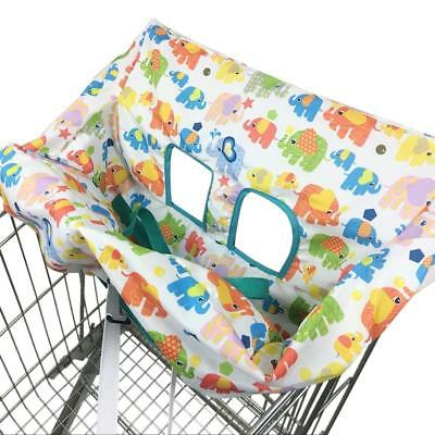 Soft Infant Baby Shopping Cart Cushion Cover Portable High Dining Chair Seat Pad