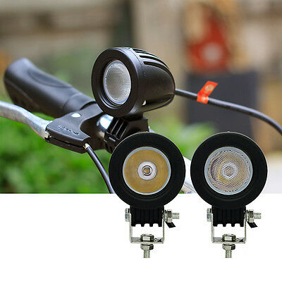 10W Spot LED Work Licht Flood Lamp Driving Fog 12V Car Motorcycle Boat AT-Deko