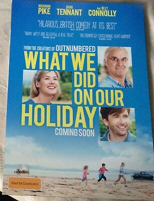 Promotional Movie Flyer What We Did on Our Holiday Billy Connolly *NOT A DVD*