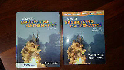 Advanced Engineering Mathematics and Students Solutions Manual D Zill 6th ed