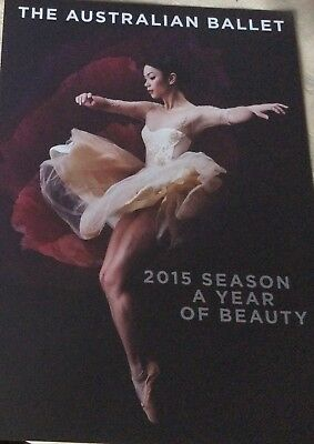 Promotional Flyer The Australian Ballet 2015 Season A Year Of Beauty